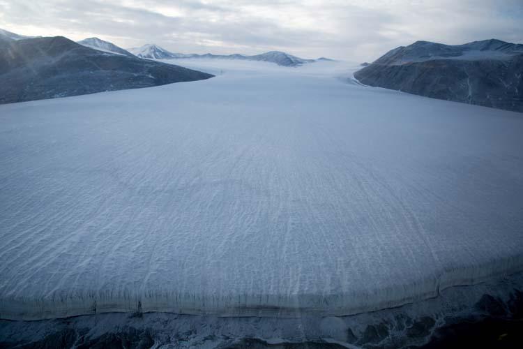 Commonwealth Glacier, Taylor Valley, McMurdo Dry Valleys