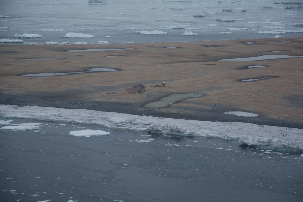 The oldest buidings in Antarctica at Cape Adare