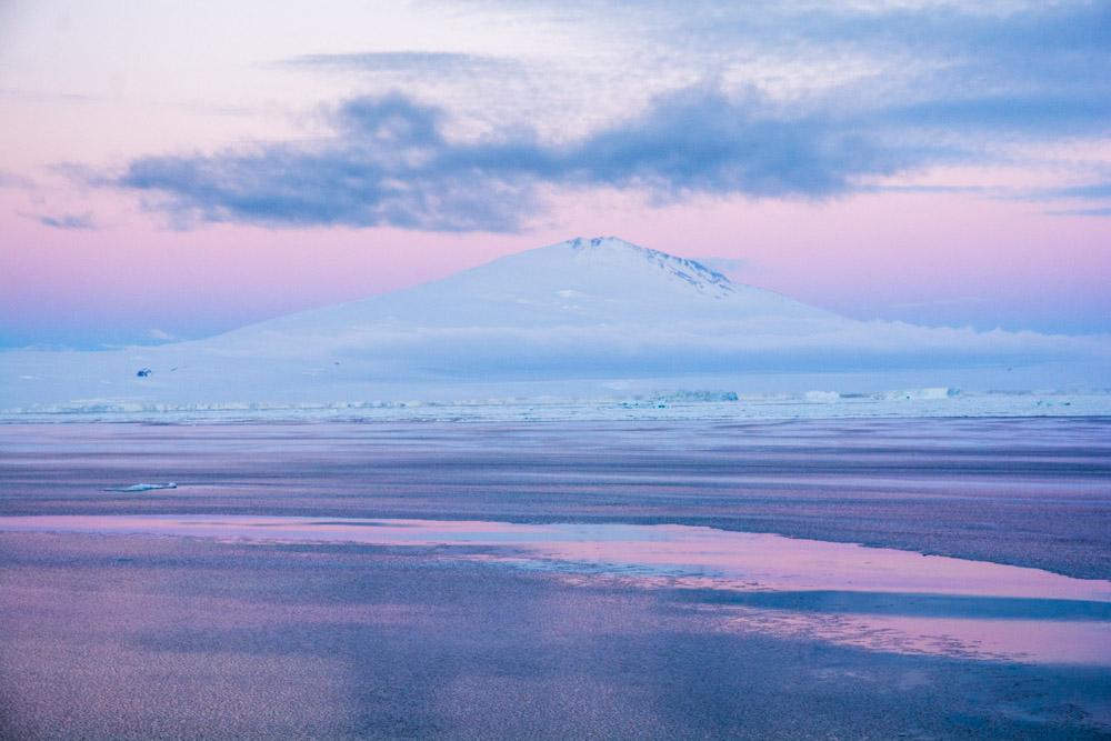 Mount Melbourne and at Cape Washington, Terra Nova Bay, Victoria Land