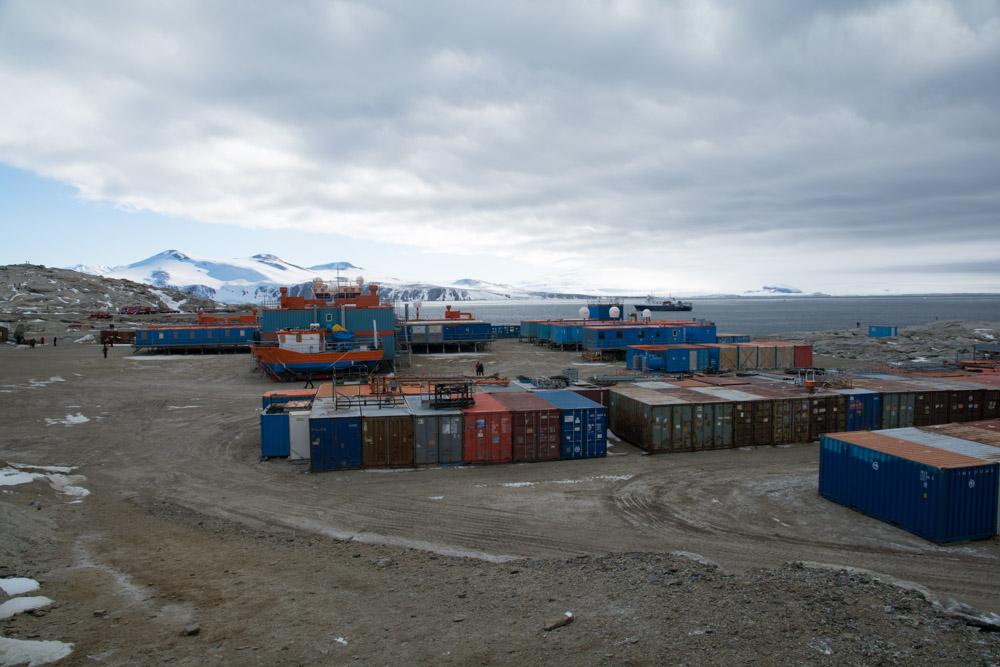 Italien Base in Terra Nova Bay, Victoria Land