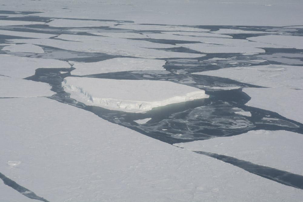 Sea ice in McMurdo Sound
