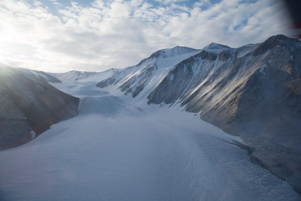 The Canada Glacier, Taylor Valley, McMurdo Dry Valleys