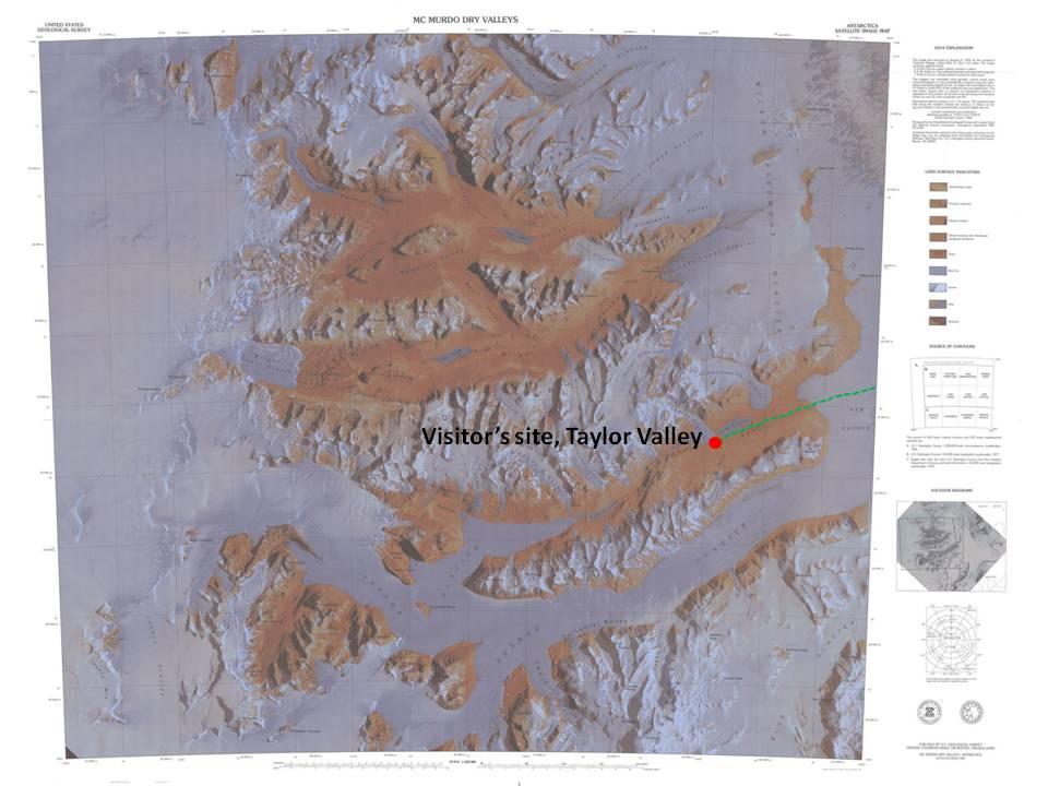 McMurdo Dry Valleys close up