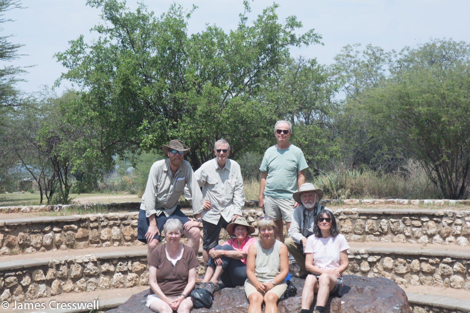 The GeoWorld Travel Group on the Hoba meteorite which fell to the earth 80,000 years ago and is the largest meteorite ever found.