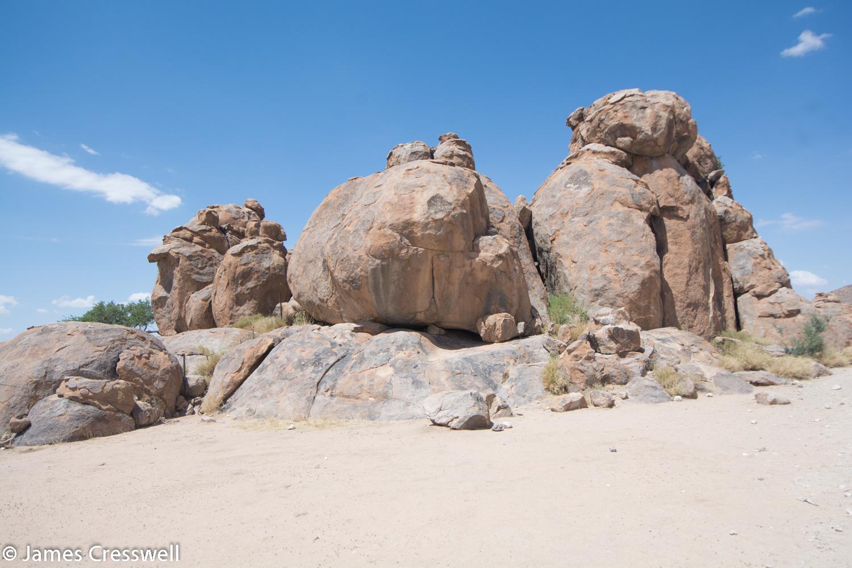 Granite in Namibia