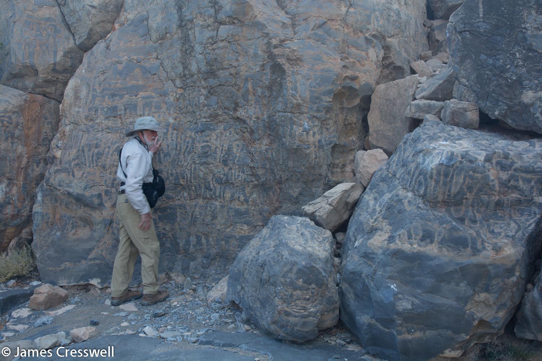 Stromatolites in Namibia. 548 million year old