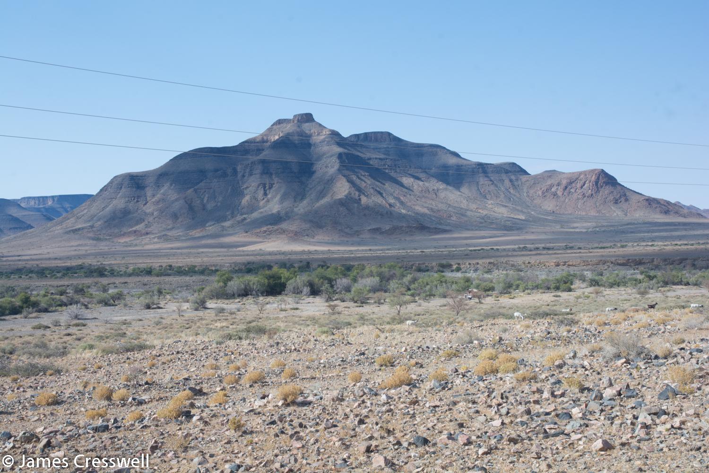 Uncomformity in Namibia