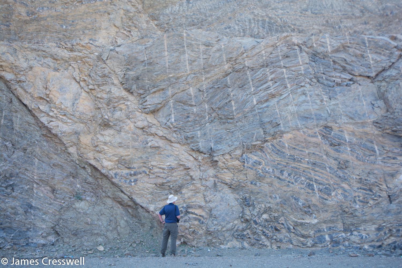 Thrust faults in Hawasina sediments