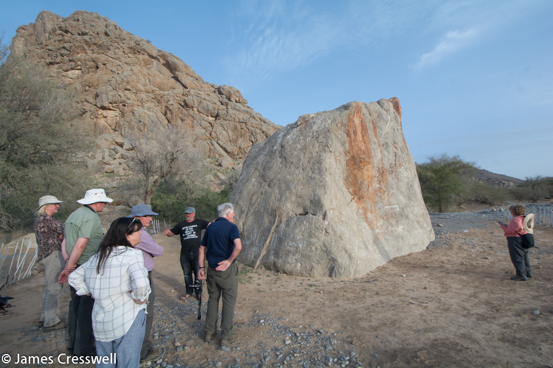 Hasat Bin Salt/Coleman's Rock this rock is engraved with ancient figures.