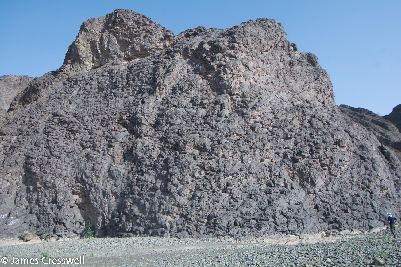 "At the ""Geotimes"" pillow basalts - Wadi al Jizzi"