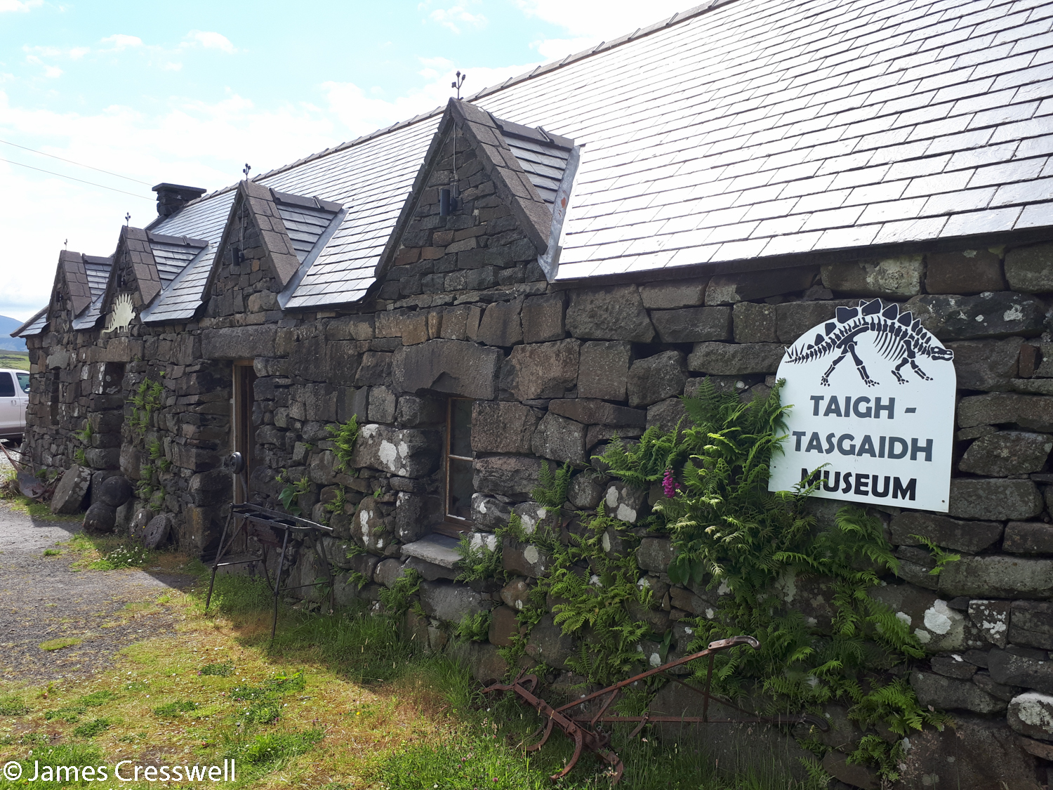 The museum at Staffin