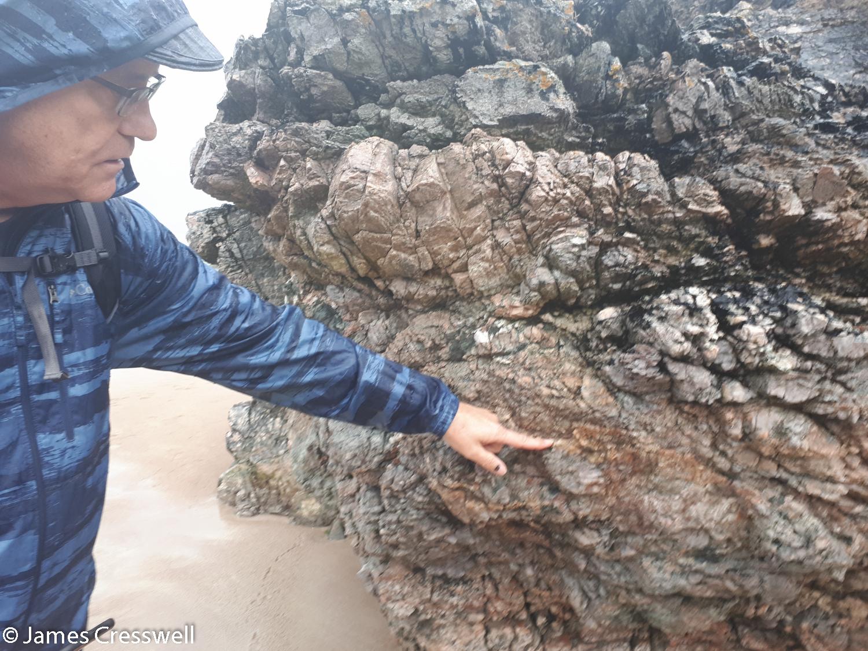 Mylonite, Sango Bay