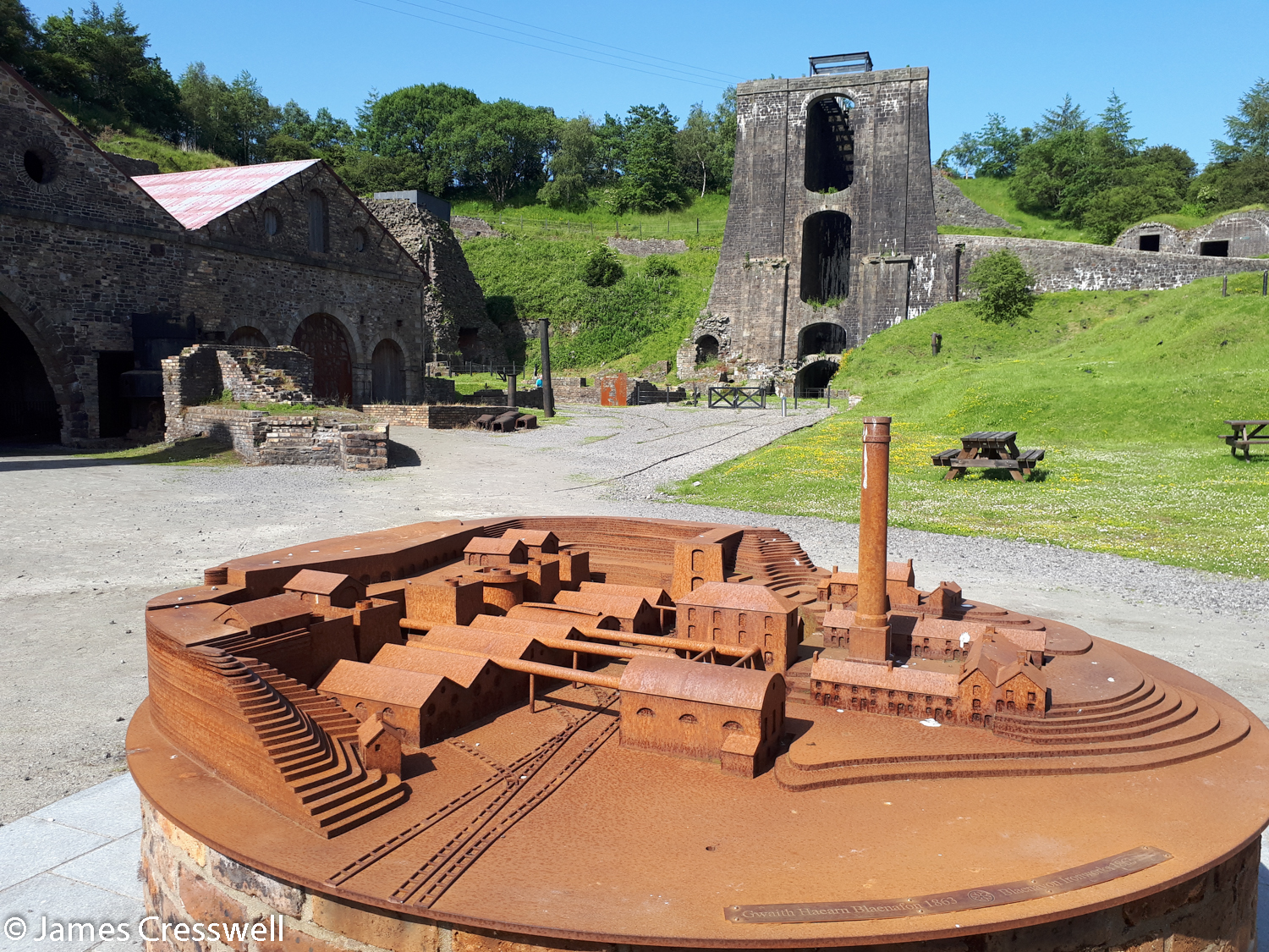 The Blaenavon Ironworks