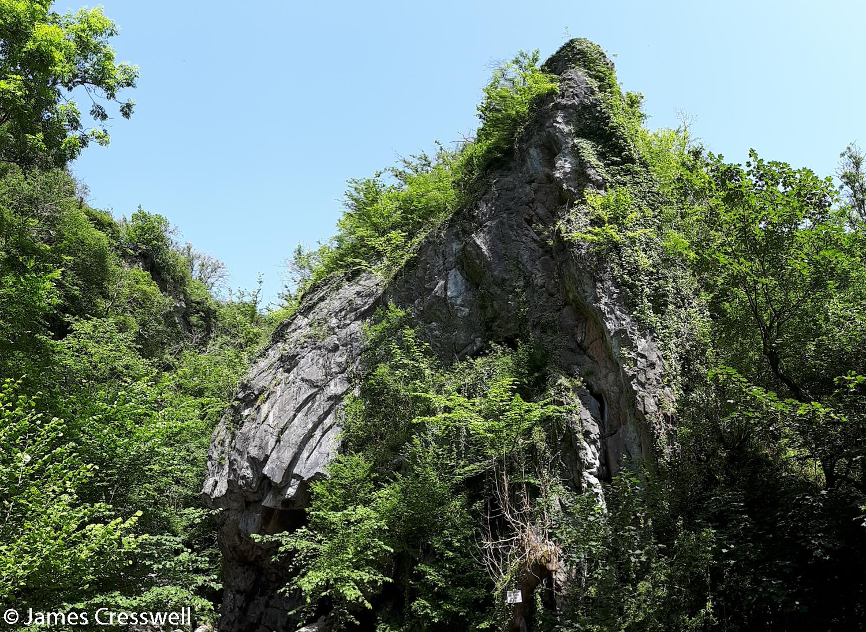 Bwa Maen Variscan fold