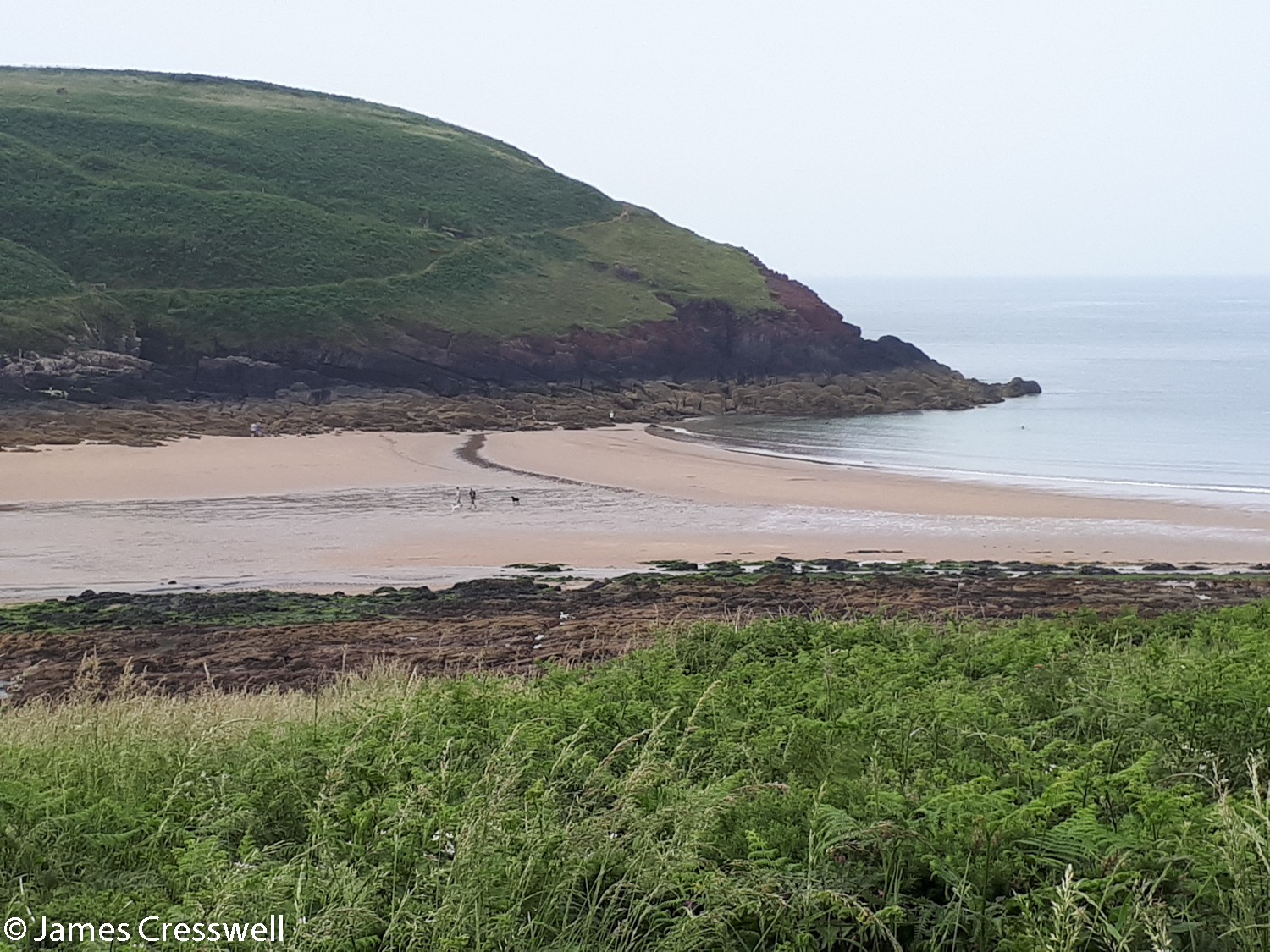 Beach at Manorbier