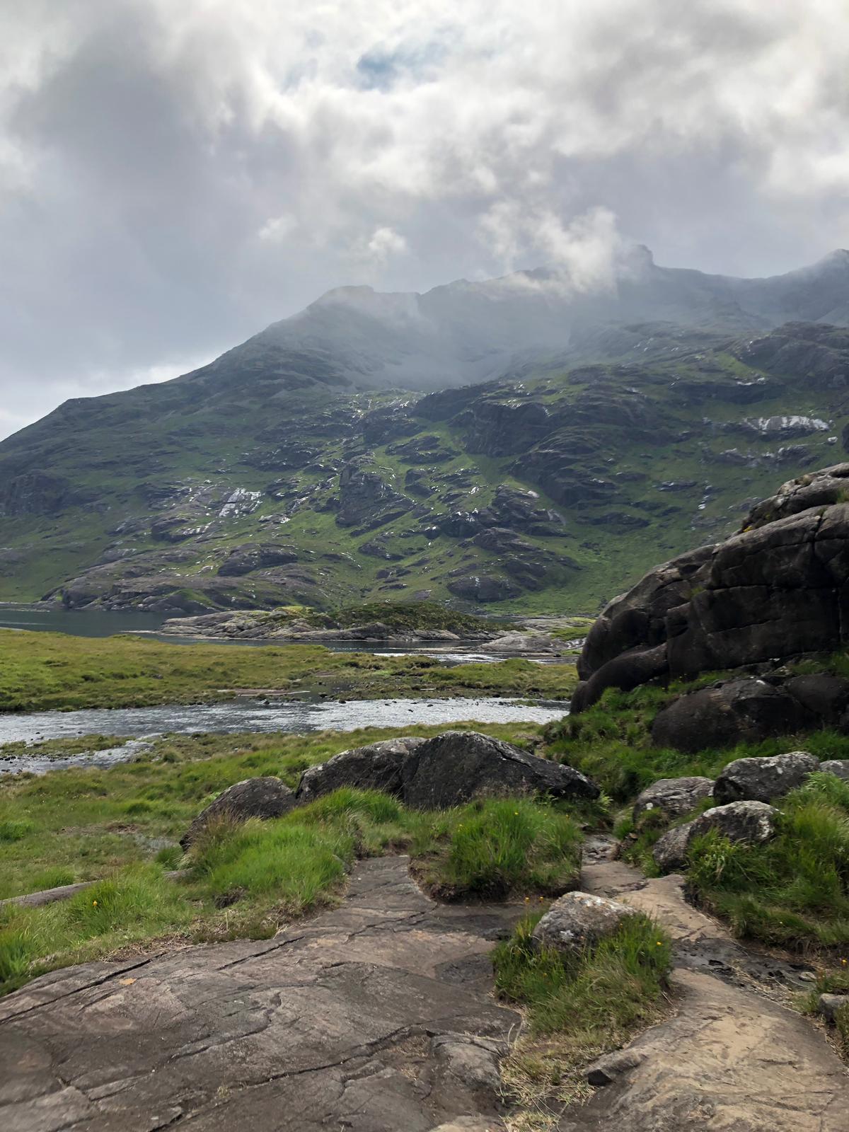 Peridotite, Black Cuillin, Isle of Skye