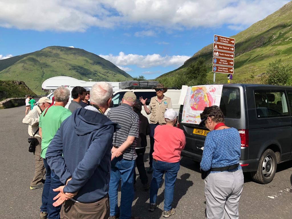 Explaining the complex geology of Glencoe. A Devonian 'supervolcano' with a huge caldera forming eruption.