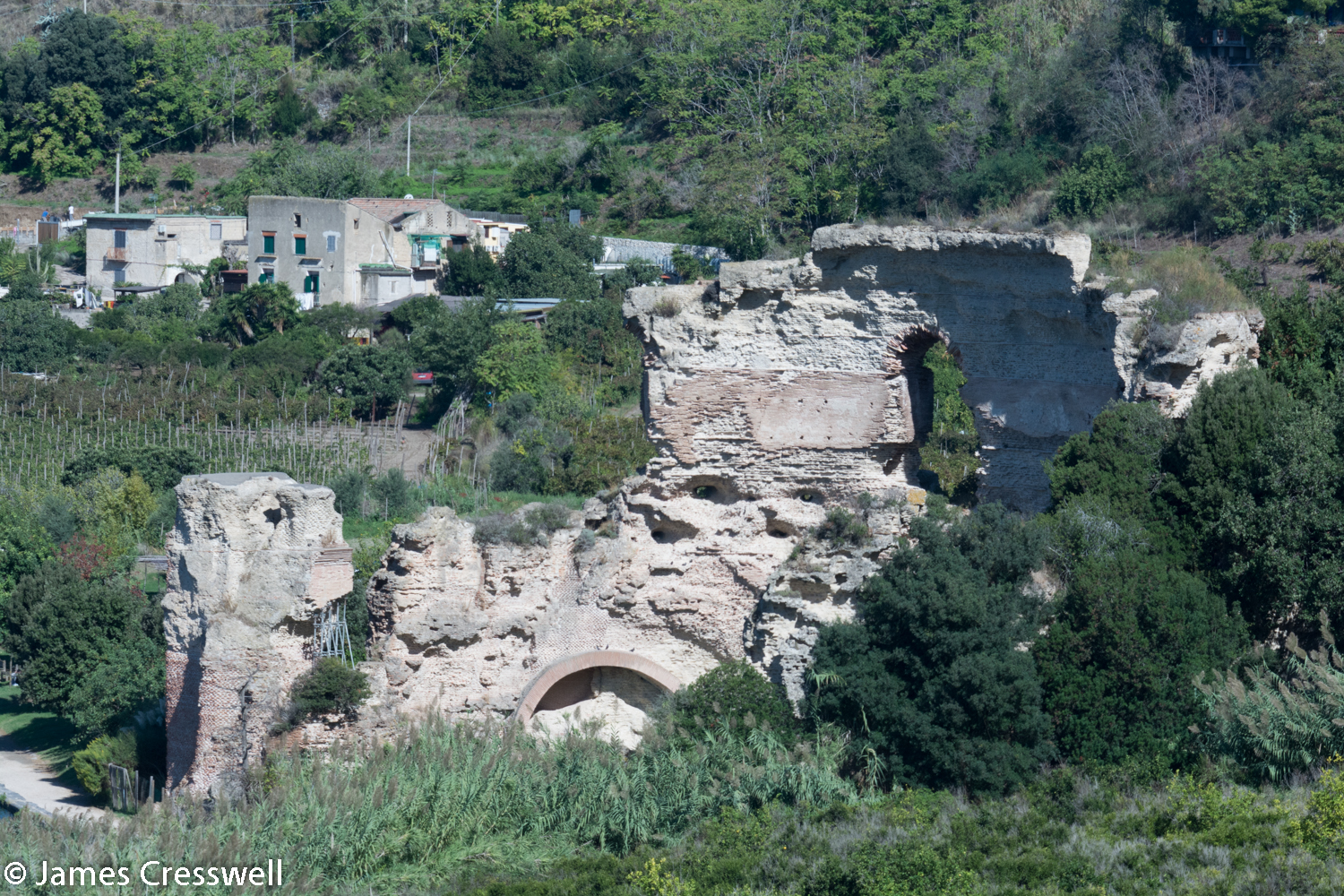 Ruins of a Roman temple