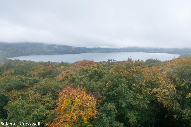 View over caldera