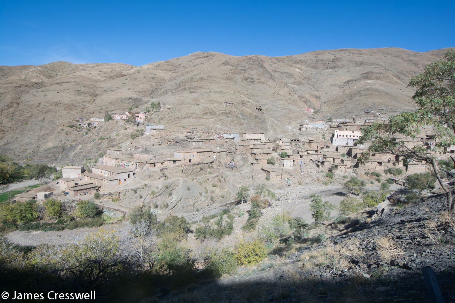 A village in the High Atlas mountains