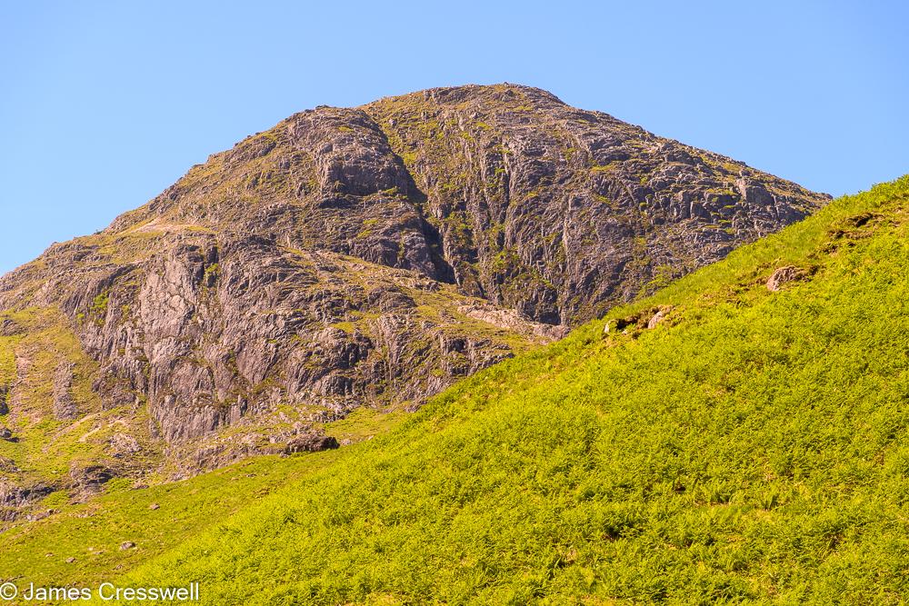 A rocky mountain top