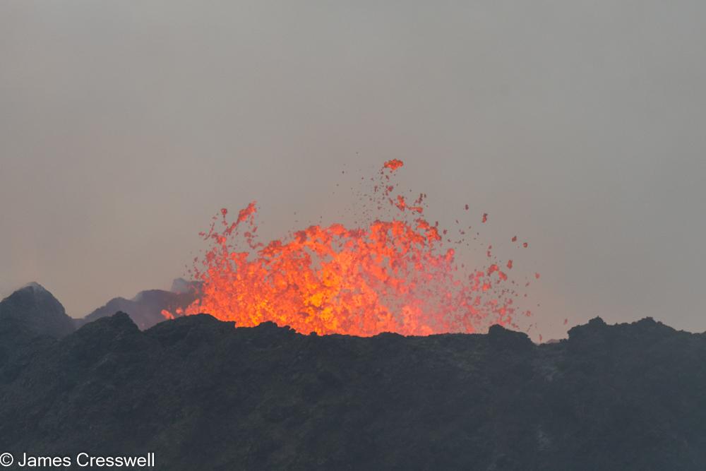 Volcanic eruption